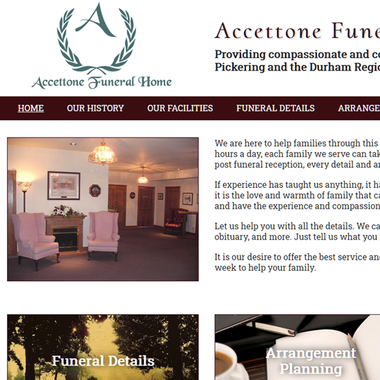 Accettone Funeral Home Ltd.